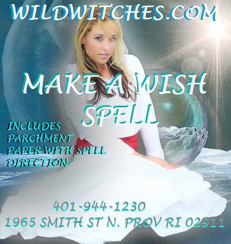 Wild Witches Make a Wish Spell