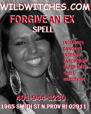 Wild Witches Wiccan FORGIVE AN EX Spell