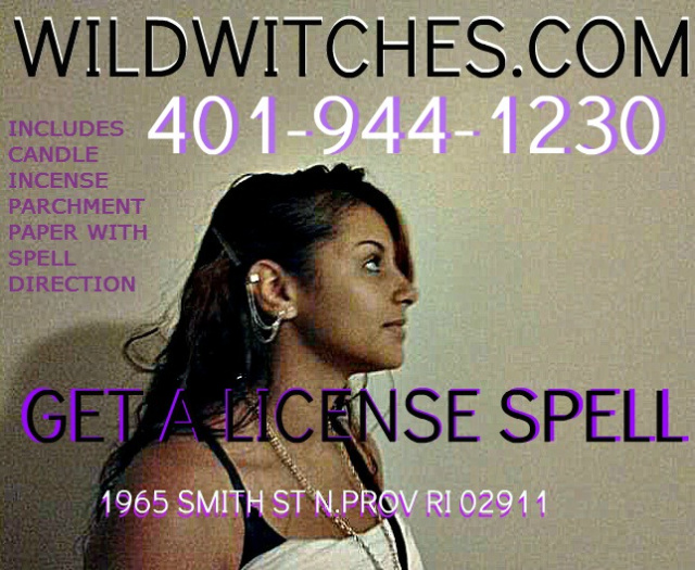 Wild Witches Get A License Spell