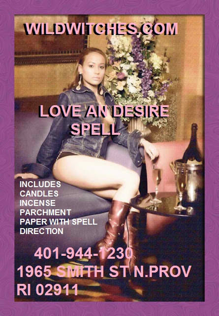 Wild Witches LOVE & DESIRE Spell