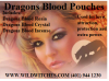 Wild Witches Dragons Blood Pouches